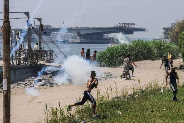 Affrontements sur l'île al-Waraq