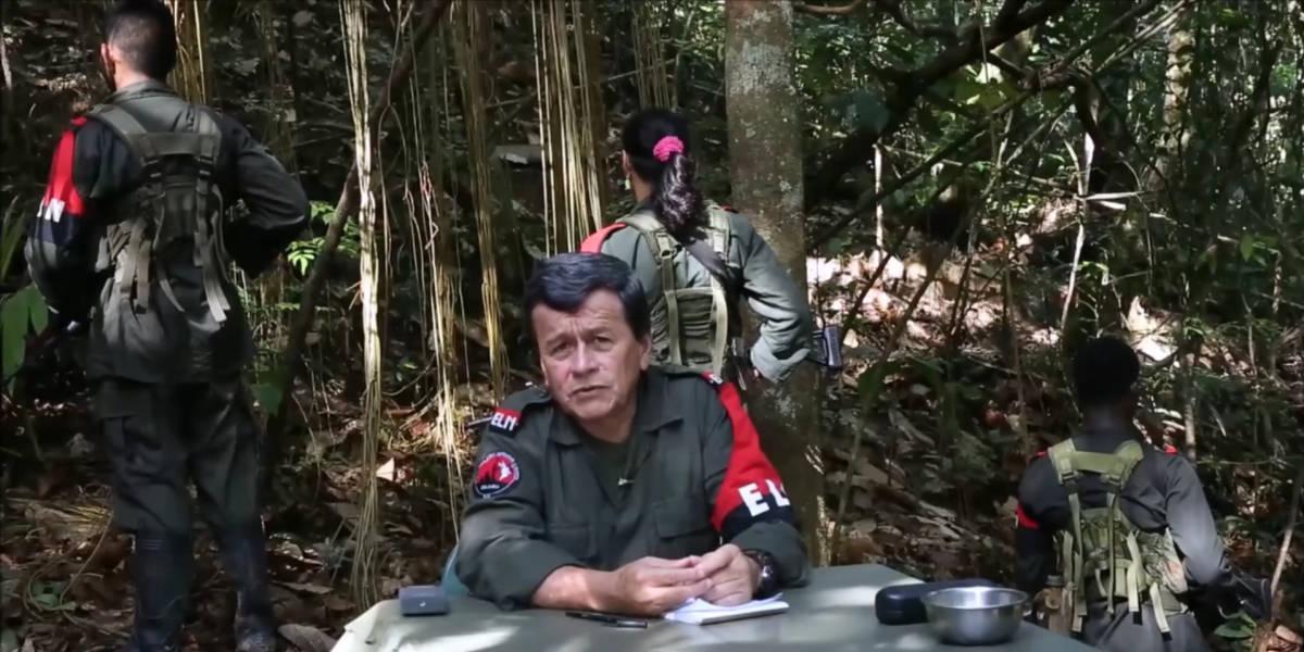 Le négociateur de l'ELN, Pablo Beltran,