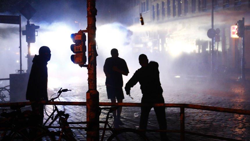 Les derniers affrontements ce dimanche matin à Hambourg