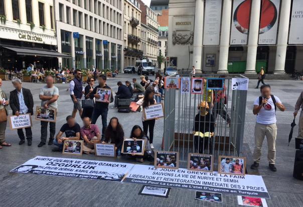Le rassemblement de samedi à Bruxelles à l'appel du Comité pour la Levée de l'État d'Urgence