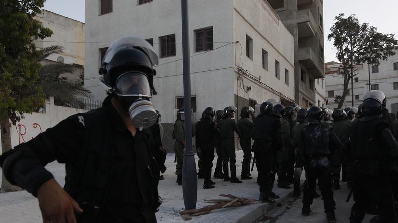 La répression hier à Al-Hoceïma