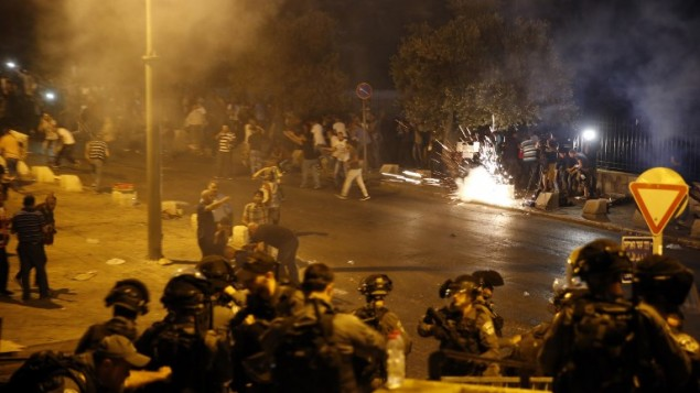 Les affrontements du 22/7 à Jérusalem