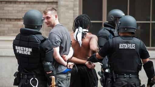 Manifestants antifascistes arrêtés à Boston