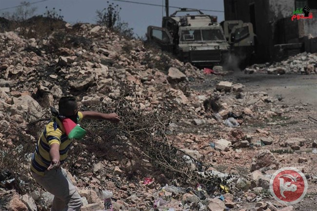 Affrontements à Kafr Qaddum