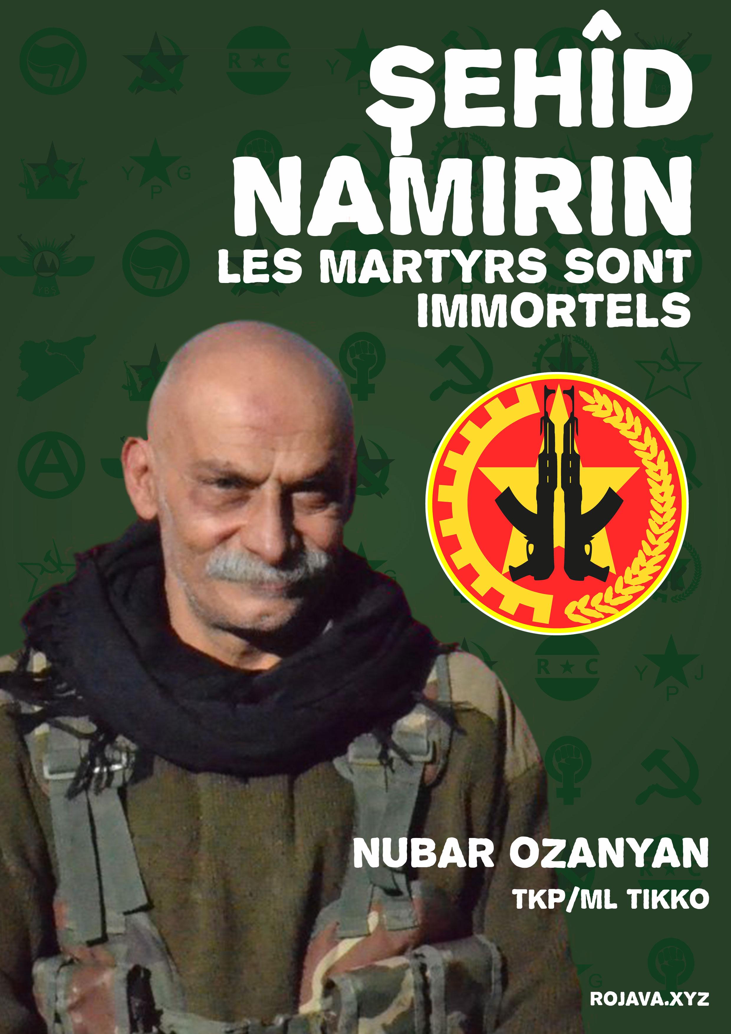 Nubar Ozanyan, martyr de Tikko