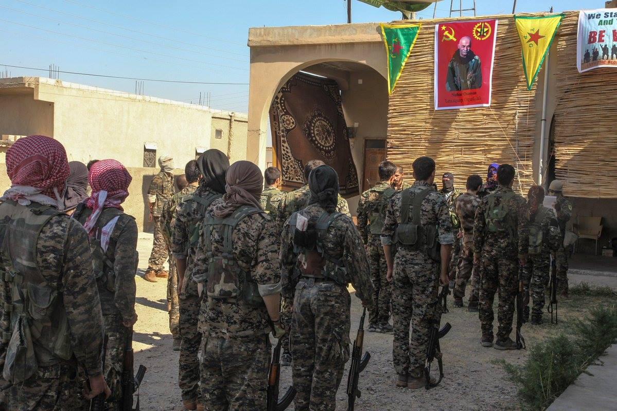 Commémoration pour le commandant TIKKO Rojava, Nubar Ozanyan