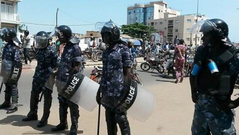 Manifestation à Lomé le 19/08/2017