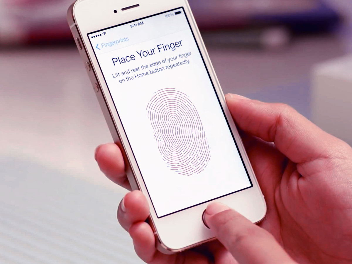 Touch ID sur un iphone