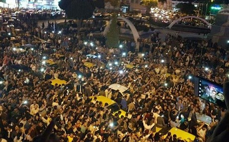Manifestation au Kurdistan Oriental (Iran)