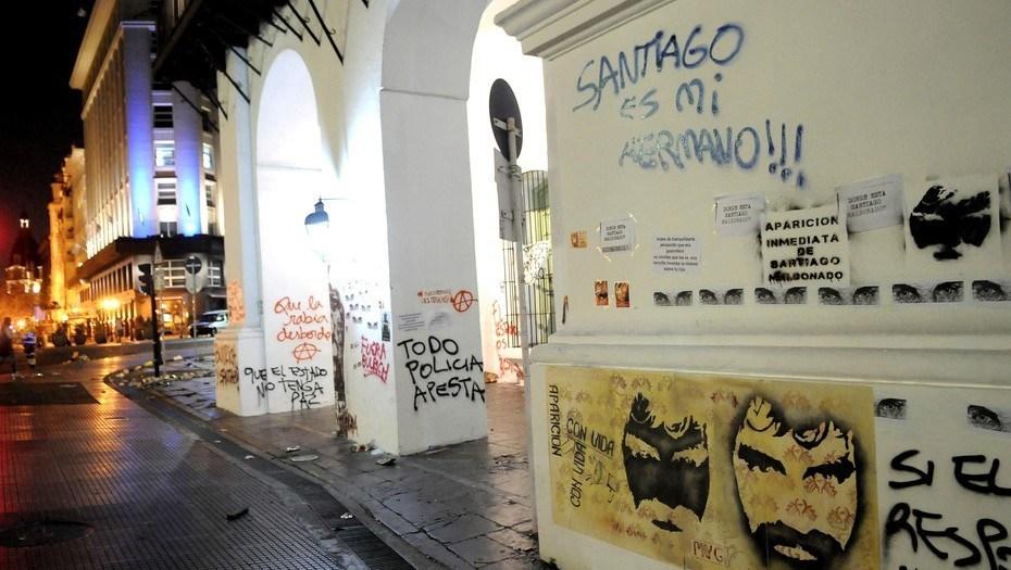 Après le passage de la manifestation à Buenos Aires...