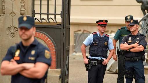 L'opération policière à Igualada