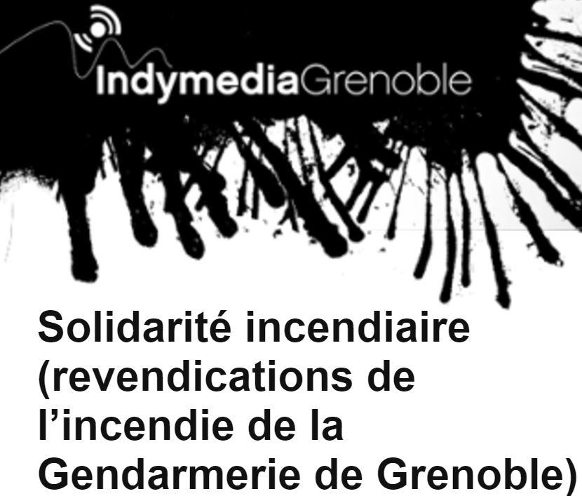Indymedia Grenoble censuré.