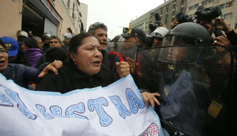 Incidents hier à Lima