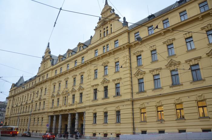 Le Tribunal municipal de Prague
