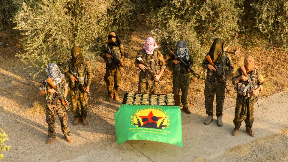 Le Celox reçu par l'International Freedom Battalion