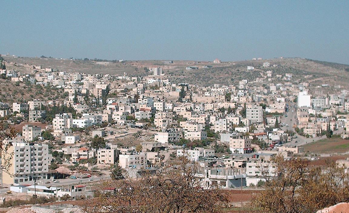 La ville de Tubas, au nord-Est de la Cisjordanie
