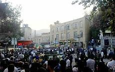 Manifestation à Sanandaj