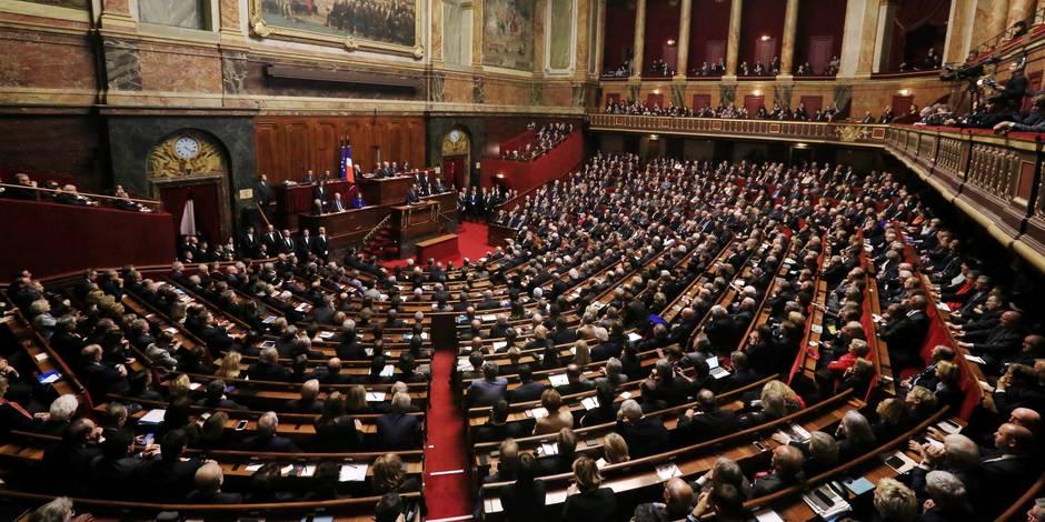 Vote au parlement français