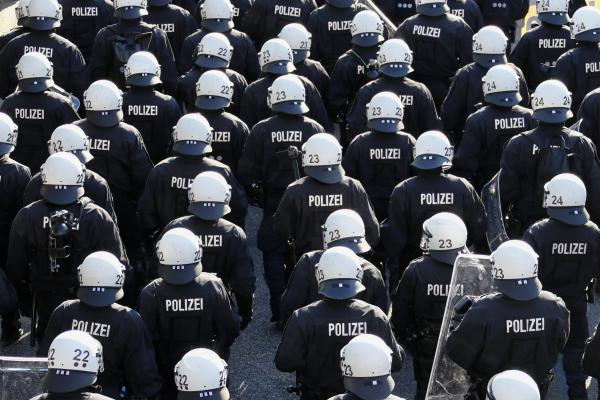 Déploiement policier au G20
