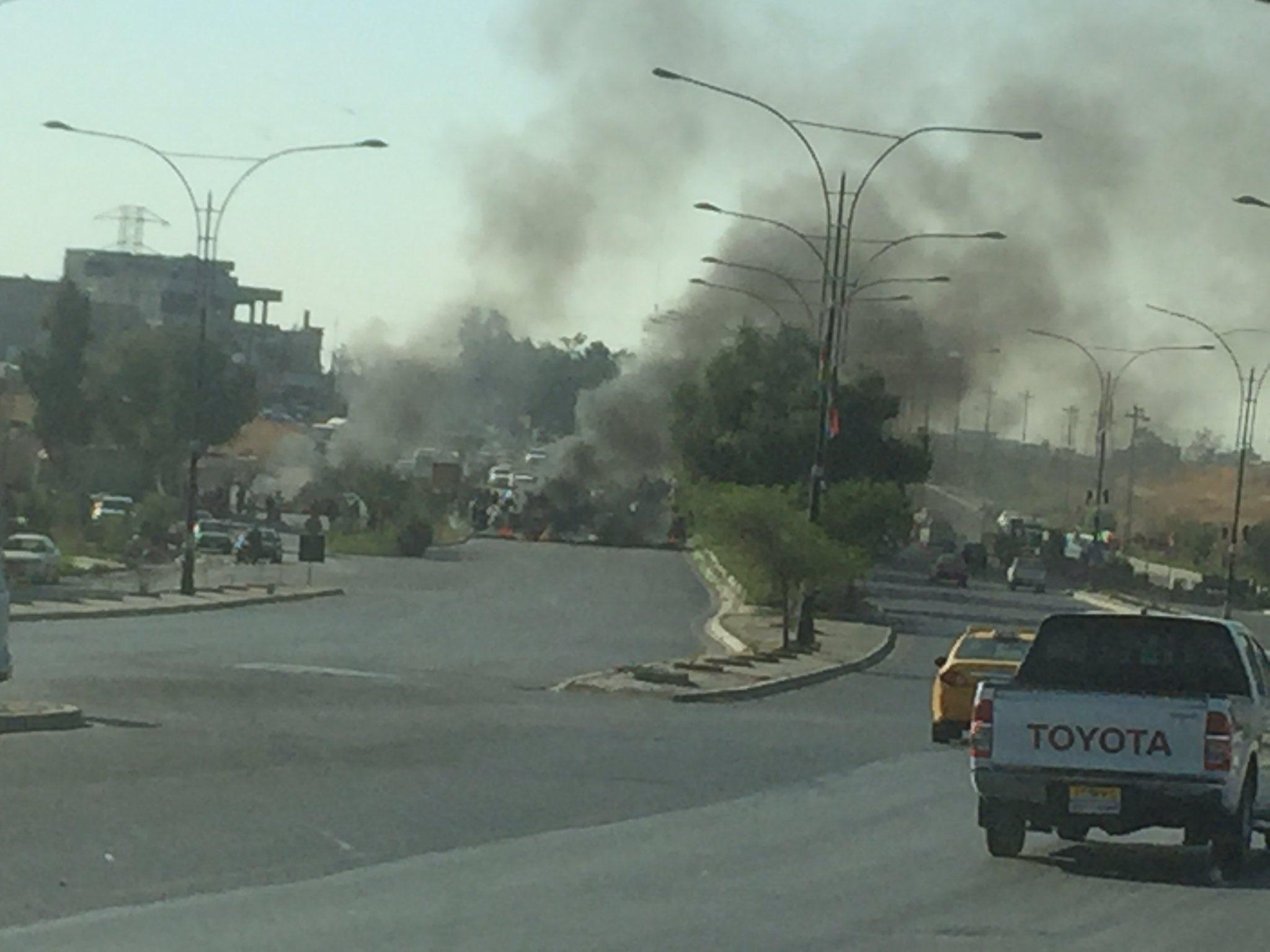 La tension est palpable à Kirkouk. Crédit @jenanmoussa
