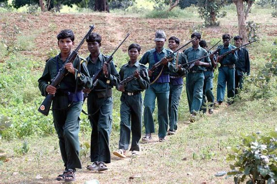Guérilleros maoïstes
