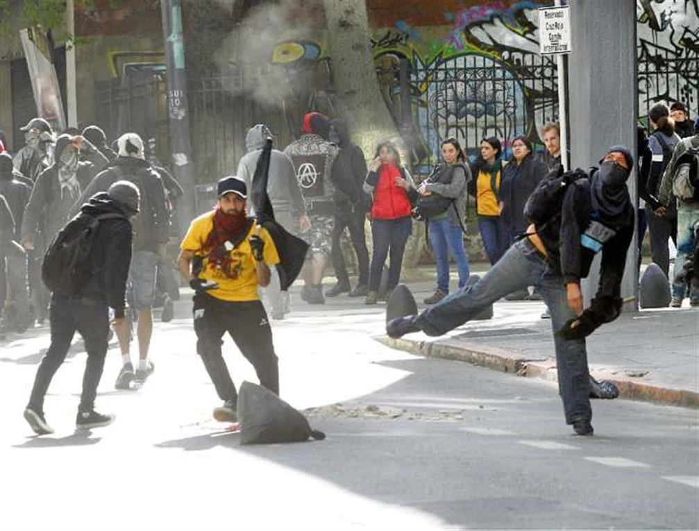Les affrontements du Buenos Aires
