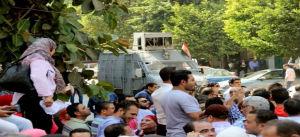 Manifestation pour la libération des syndicalistes prisonniers