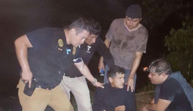 L'arrestation de Nestor Inocencio Huaman