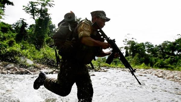 Opération des forces anti-guérilla dans la région VRAEM