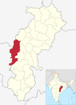 District de Rajnandgoan