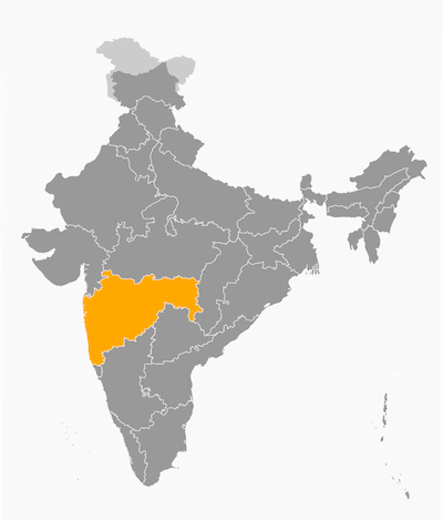 Etat du Maharashtra
