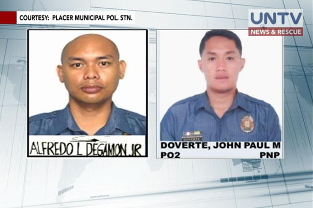 Les deux policiers capturés par la guérilla