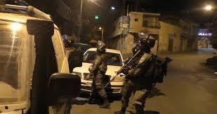 Raid israélien en Cisjordanie