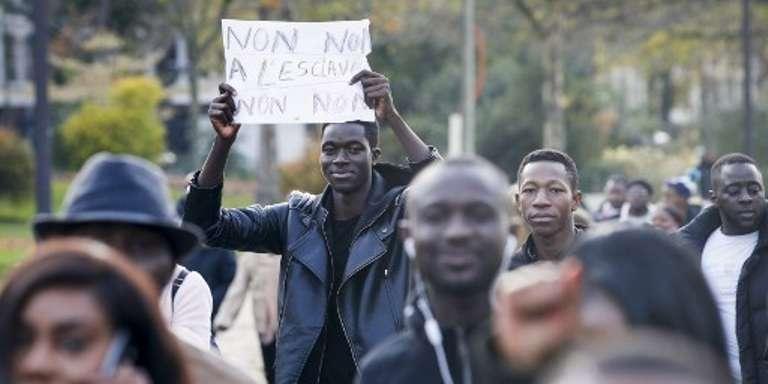 Au rassemblement anti-esclavage de Paris