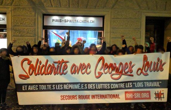Salutations solidaires à Georges Louis (Zurich, novembre 2011)