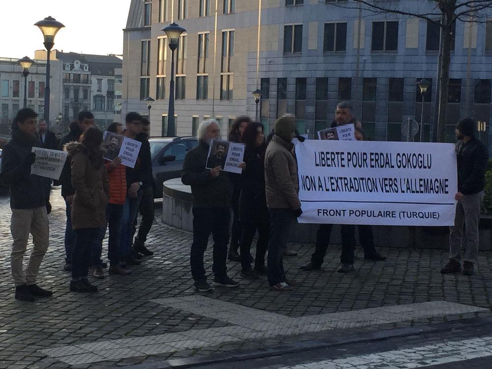 Rassemblement pour Erdal Gokoglu