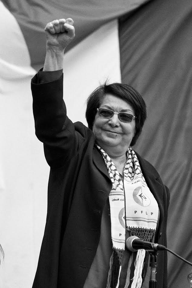 La députée palestinienne et icône de la résistance, Leila Khaled