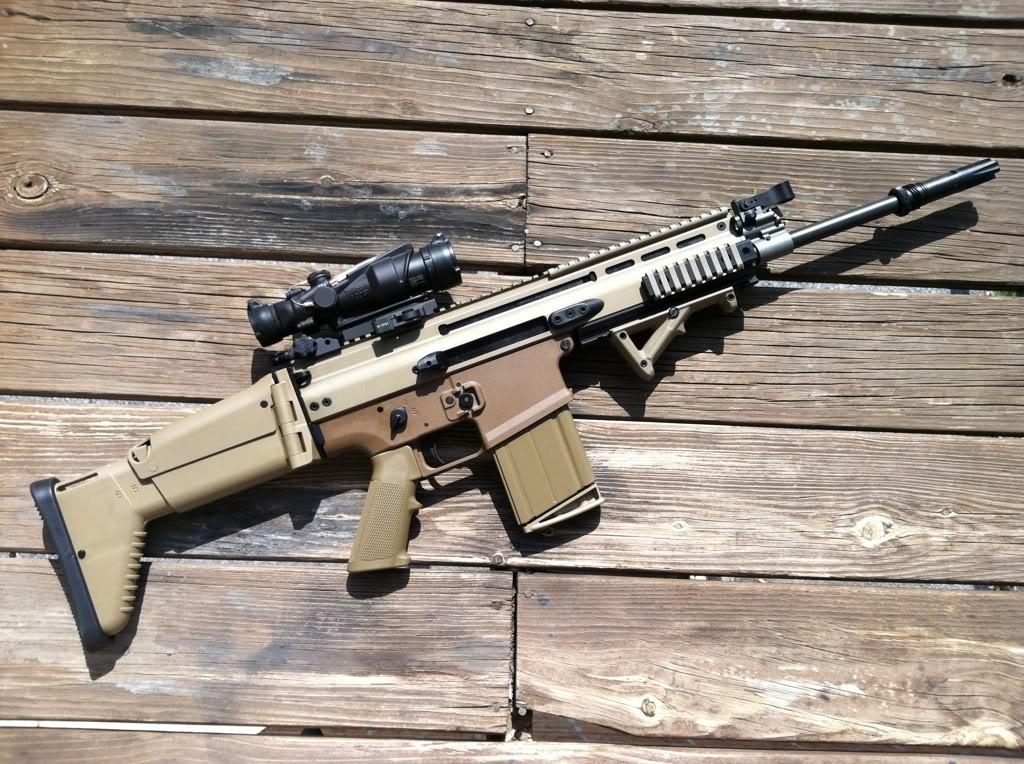 Le FN Scar, arme très demandée par les services de police