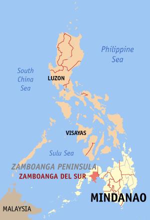 La province de Zamboanga del Sur