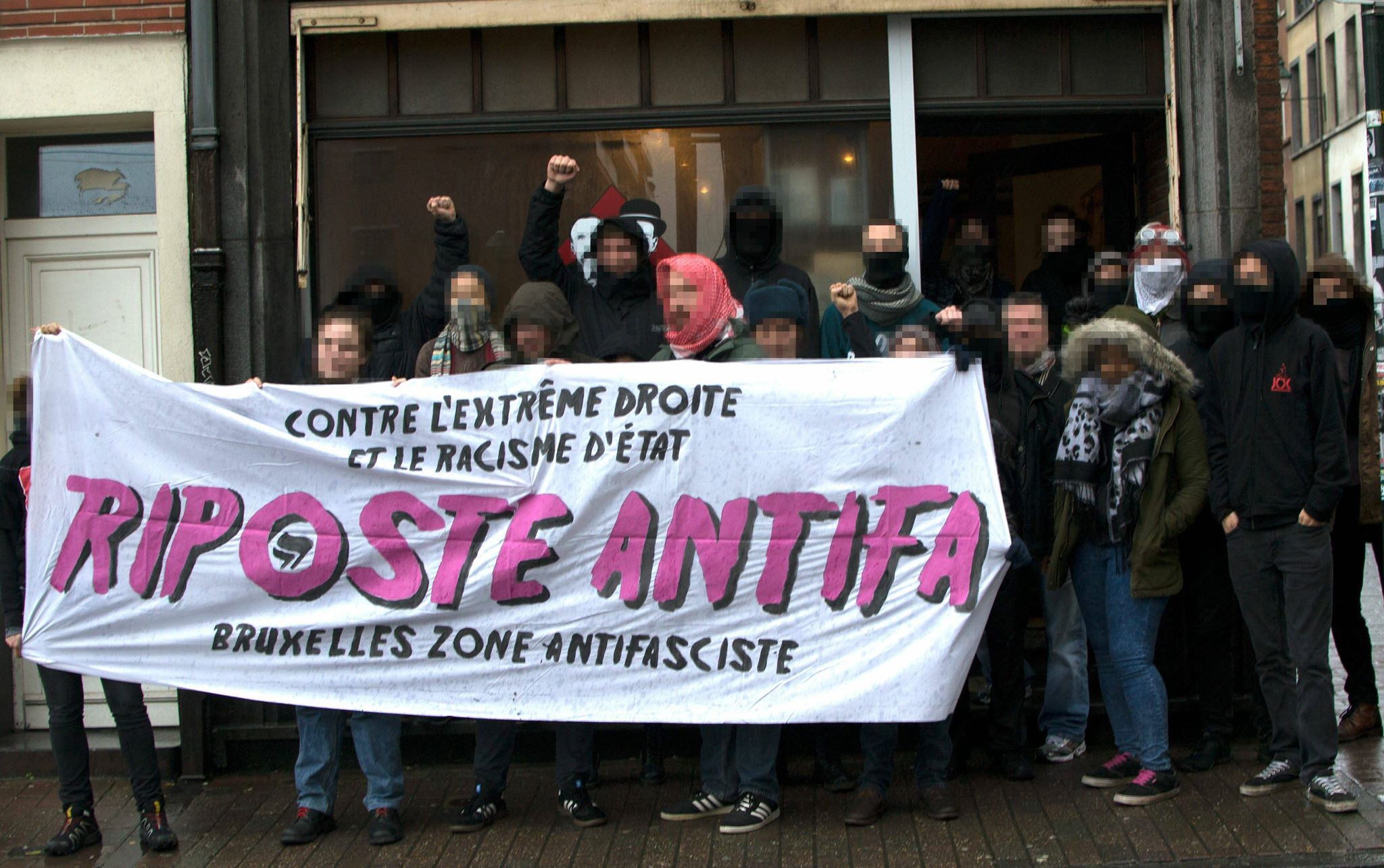 Meeting antifa au Sacco-Vanzetti