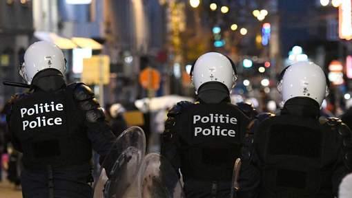 Déploiement policier lors des incidents du 25 novembre