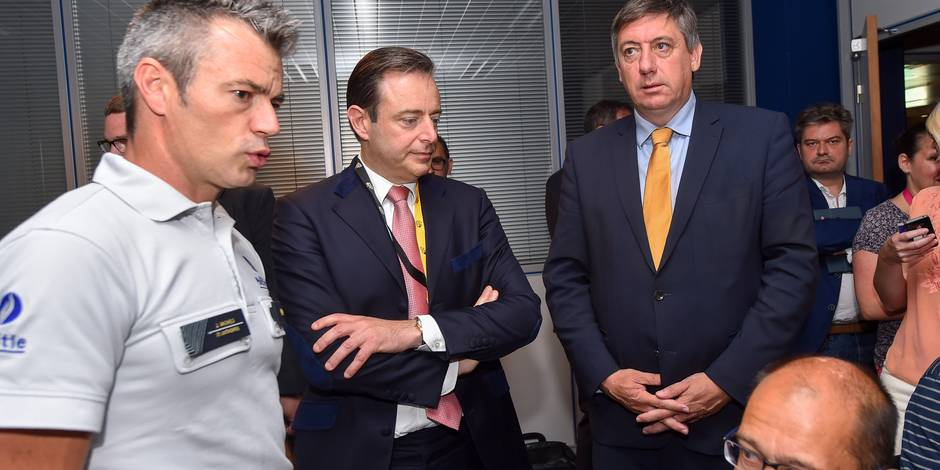 Bart De Wever (avec Jan Jambon)