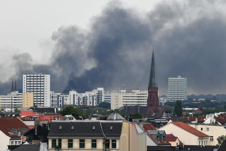 Hambourg pendant le G20