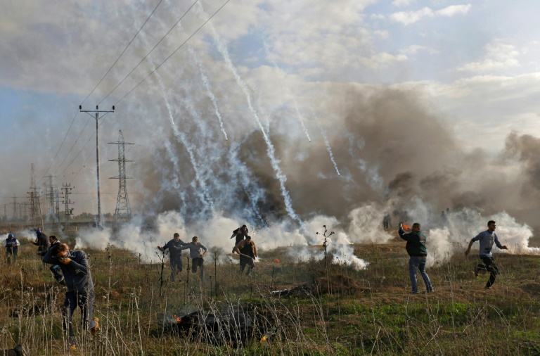 A Gaza hier 15 décembre