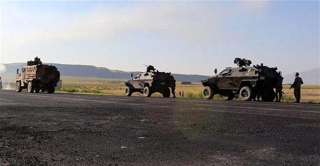 Opération anti-guérilla dans la province kurde d'Hakkari