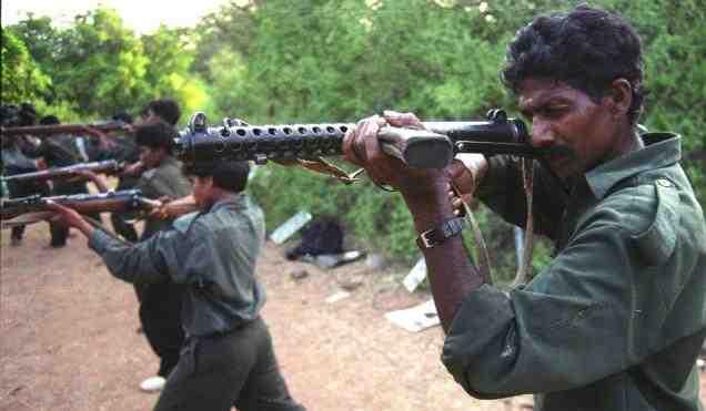 Guérilleros maoïste