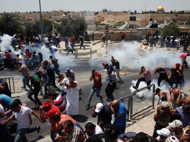 Affrontement à Jerusalem