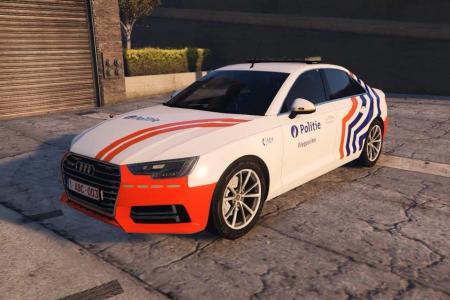 Audi A4 de la police fédérale