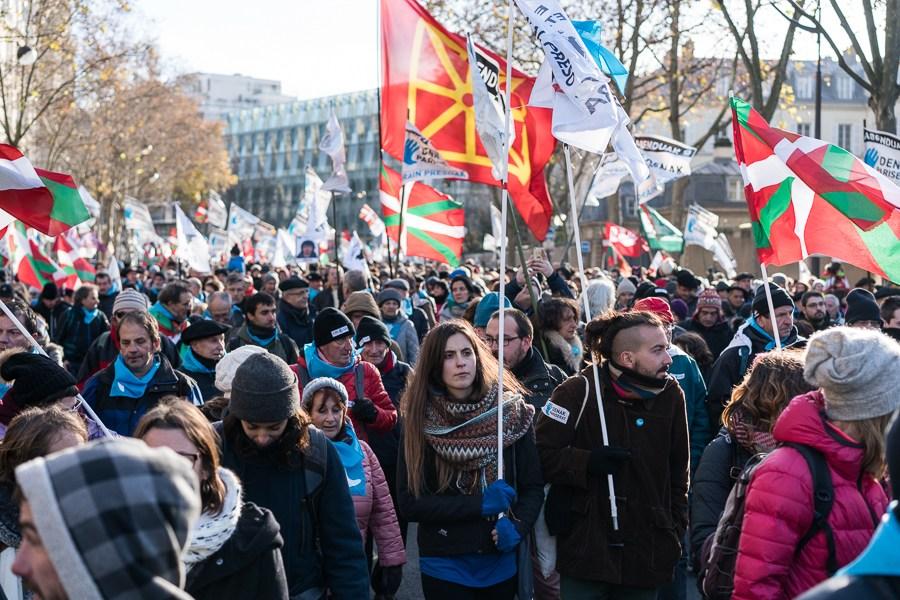 La manifestation d'hier samedi à Paris