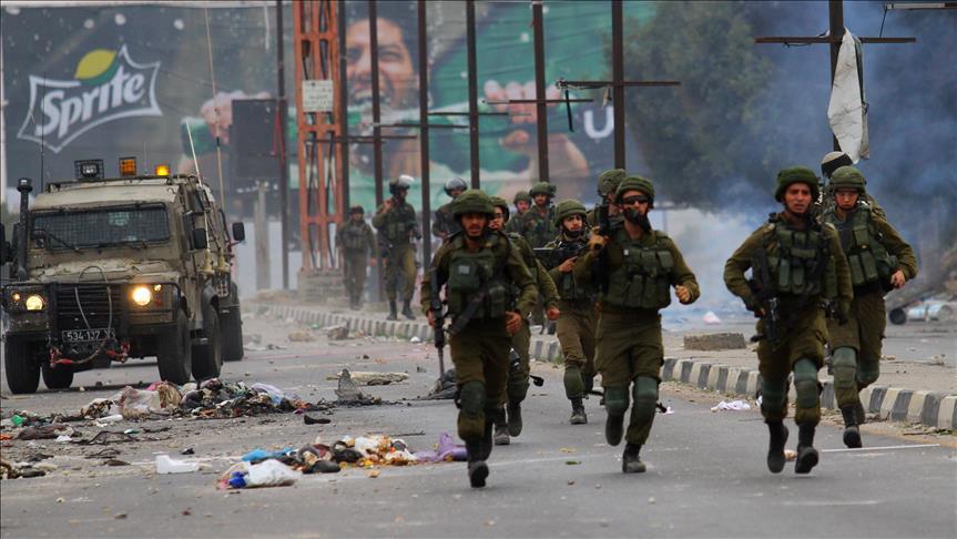 Affrontements dans les environs de Hébron